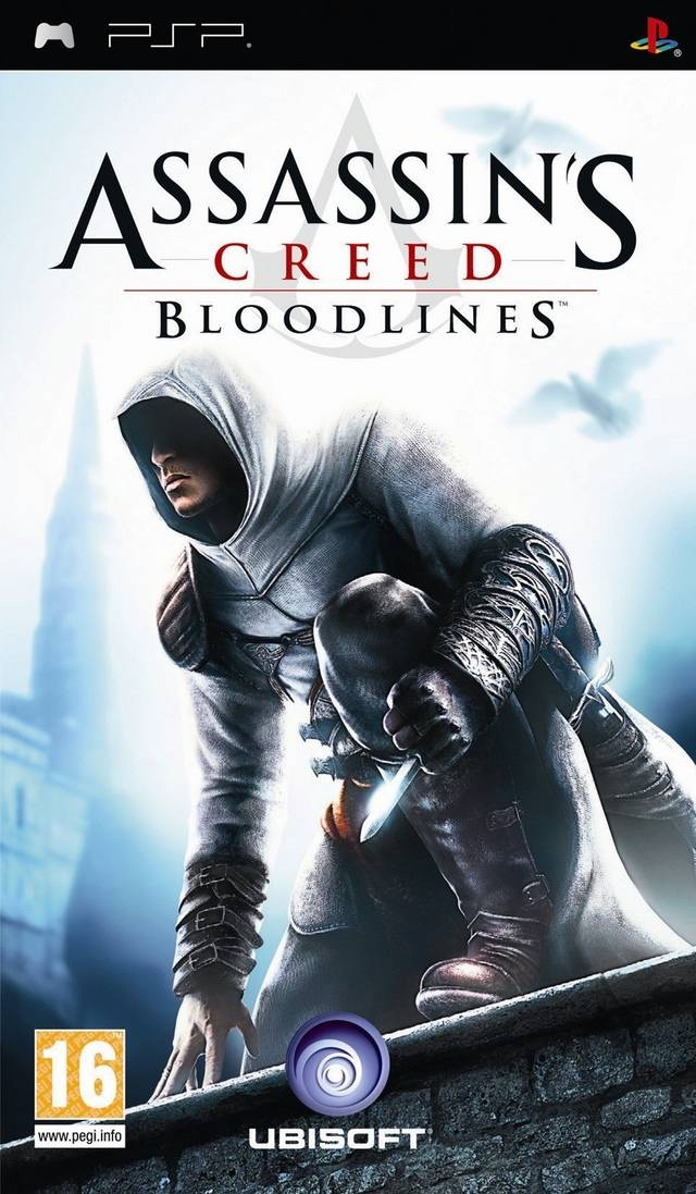 PSP Assassin's Creed: Bloodlines б/у