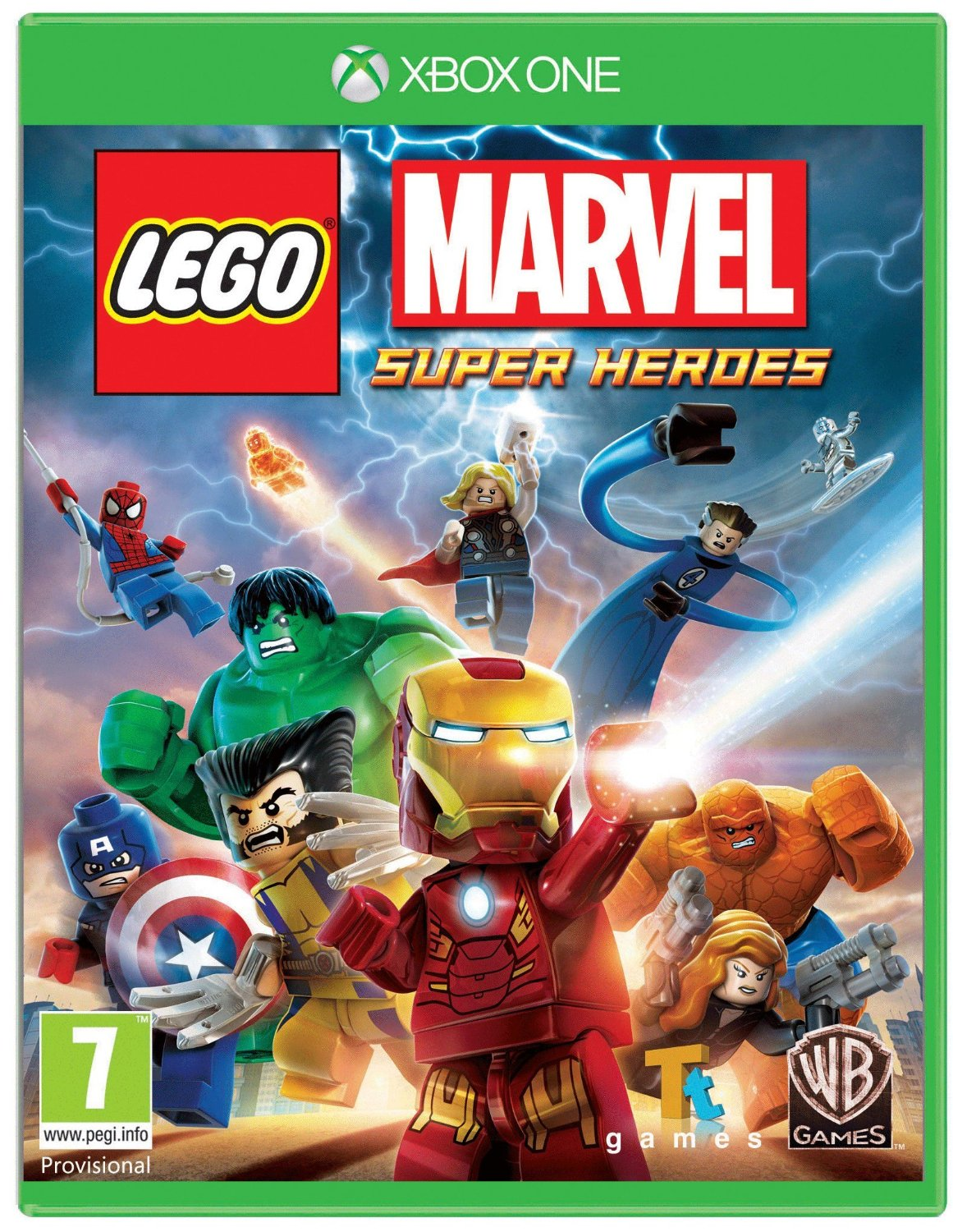 XBOX ONE Lego Marvel Super Heroes (Лего Марвел Супер Герои) б/у