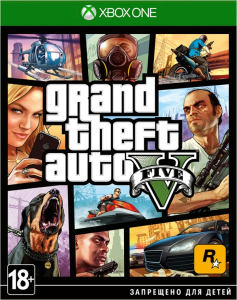 XBOX ONE Grand Theft Auto V Premium Edition (GTA 5) (русские субтитры)