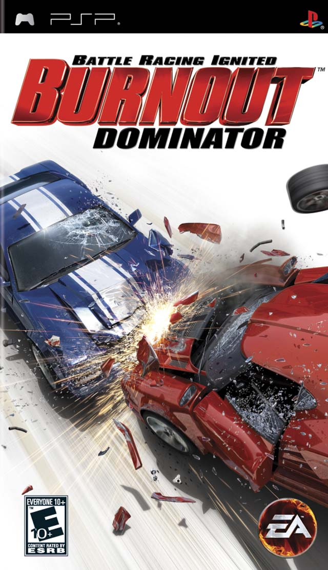 PSP Burnout: Dominator б/у