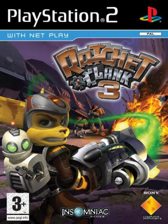 PS2 Ratchet Clank 3 б/у