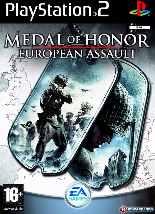 PS2 Medal of Honor: European Assault б/у