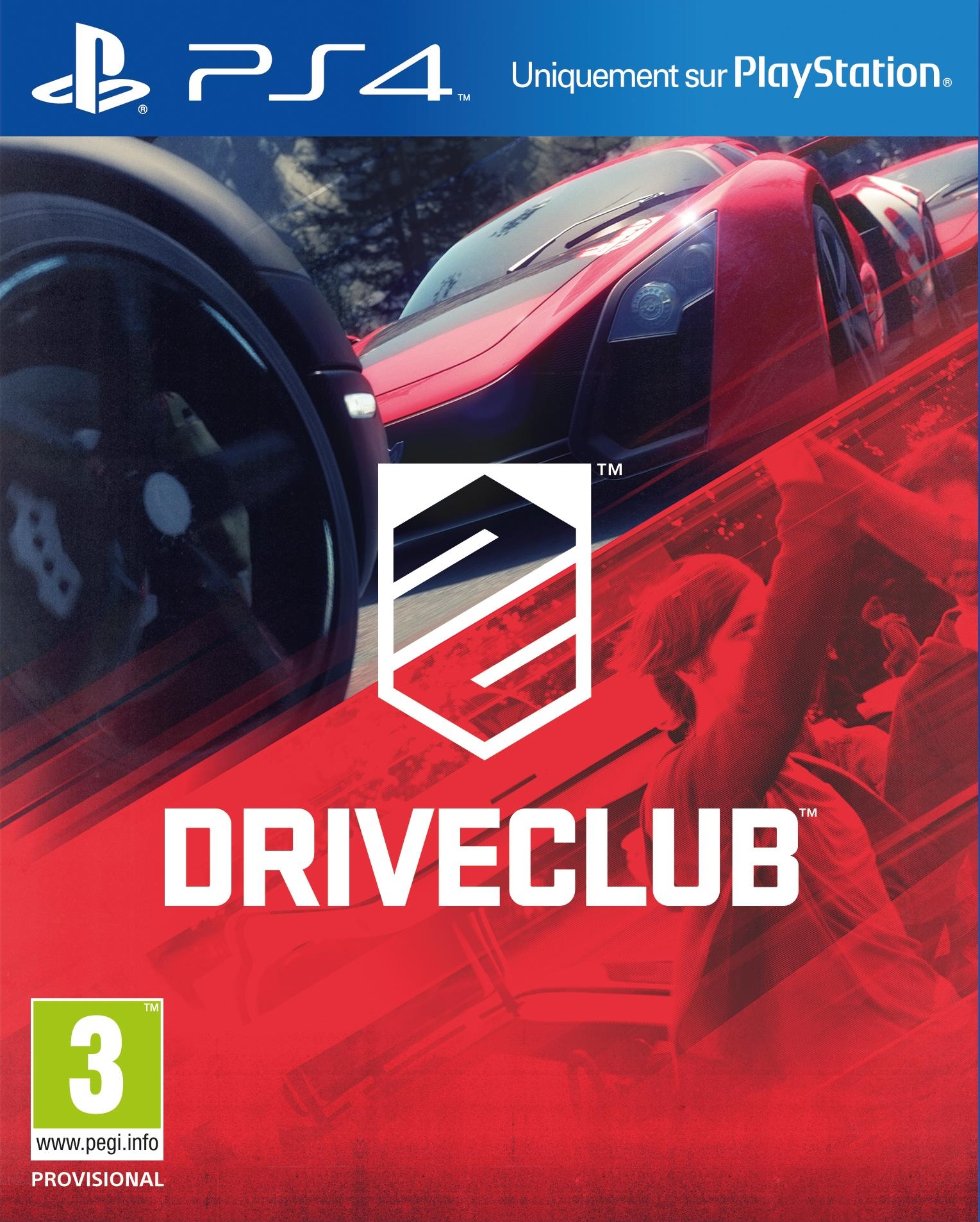 PS4 Driveclub б/у
