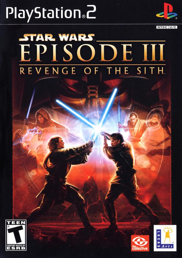 PS2 Star Wars: Episode 3 Revenge Of The Sith б/у