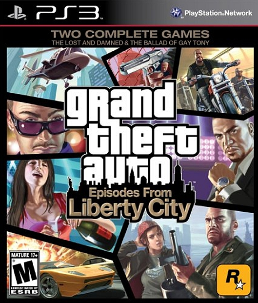 PS3 Grand Theft Auto: Episodes from Liberty City (GTA 4: Liberty City) (английская версия)