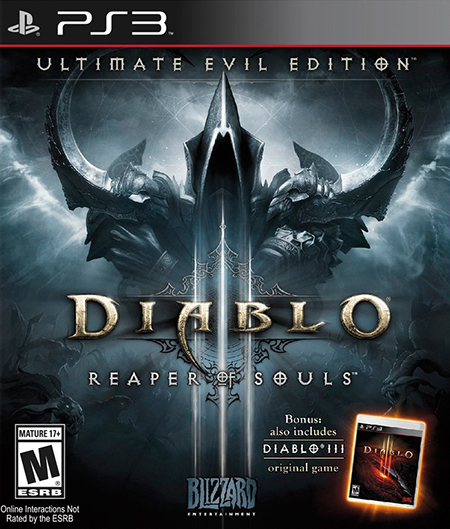 PS3 Diablo 3 Reaper Of Souls б/у