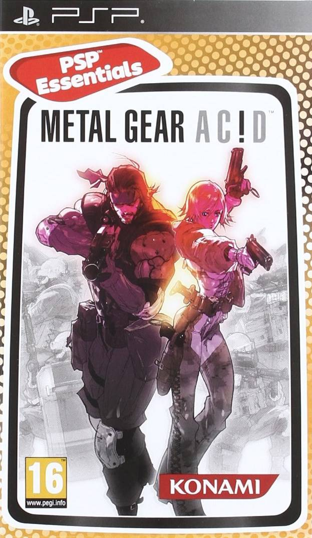 PSP Metal Gear Acid б/у
