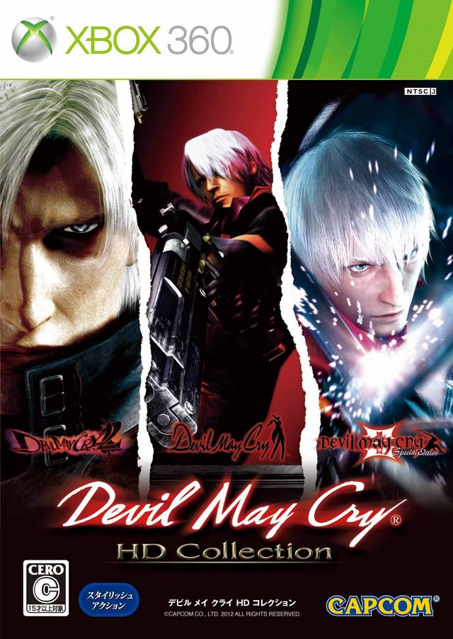Xbox 360 Devil May Cry HD Collection б/у