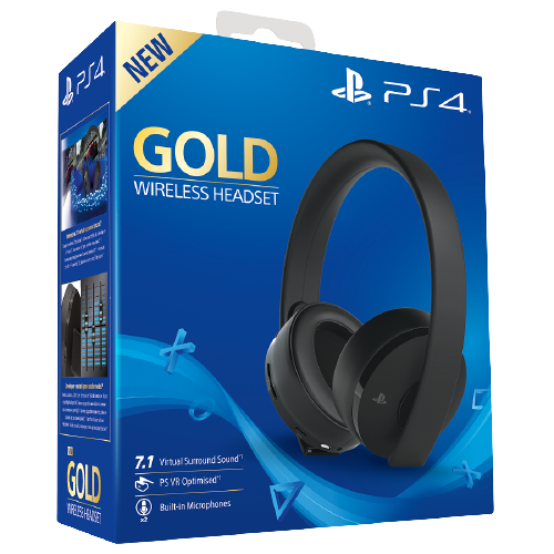 Наушники: Playstation Gold 7.1 Wireless Headset 2.0 PS4,PS3, PS Vita