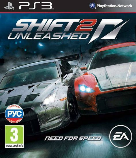 PS3 Need For Speed Shift 2 Unleashed  купить за 1 890 -