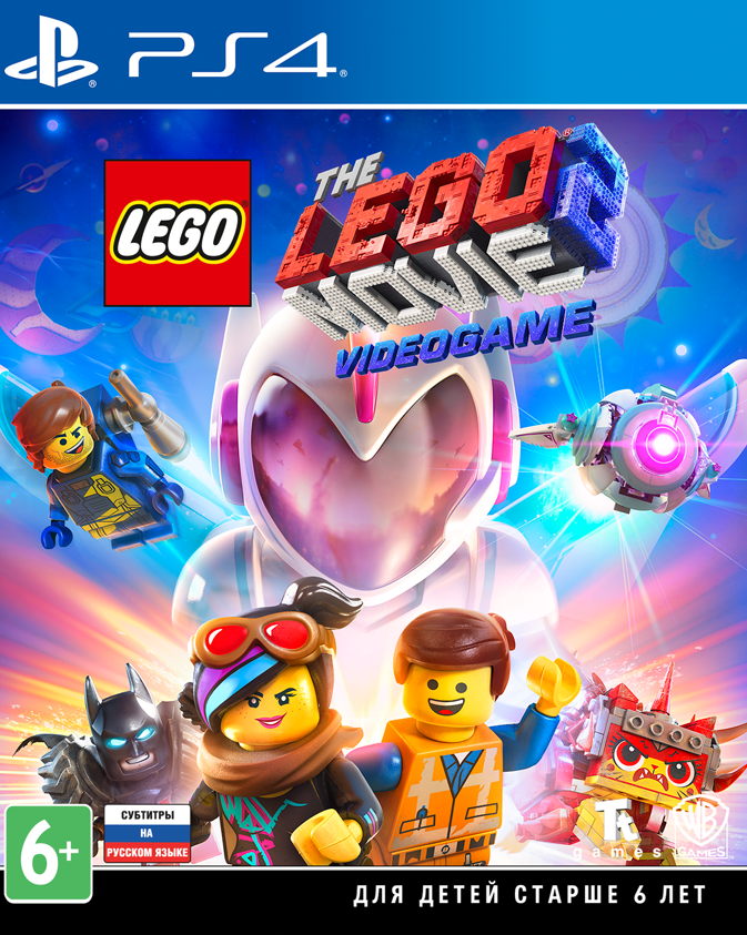 PS4 LEGO Movie 2 Videogame Toy Edition