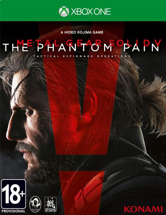 XBOX ONE Metal Gear Solid V The Phantom Pain (Фантомная боль)  купить за 1 990 -